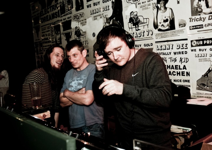 Henry Heatwave DJing at Wuk Up, The Bank, Bristol. Copyright Elena Goodrum